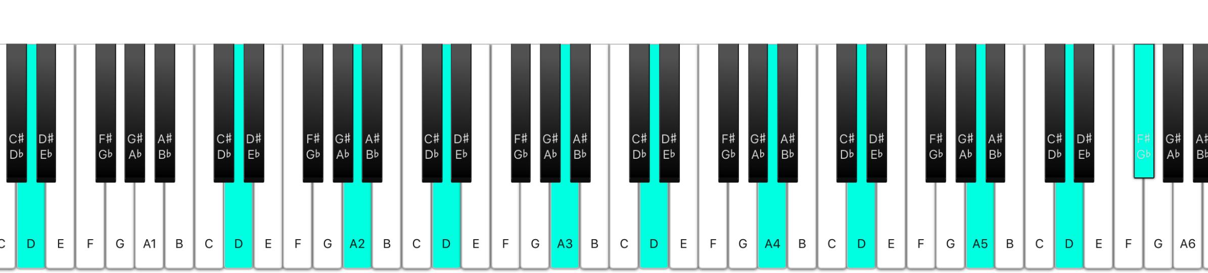 Deep note chord