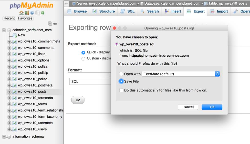 export-posts